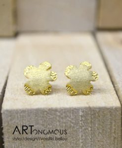 flowers stud earrings artonomous