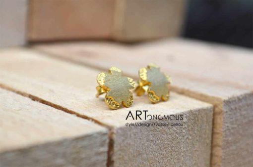 flowers stud earrings artonomous