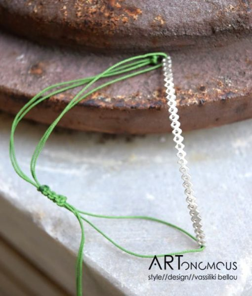 elsa wire silver bracelet artonomous