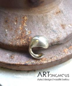 silver statement ring dedonaki artonomous