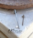 σκουλαρίκια πατινα μαργαριτάρι Artonomous