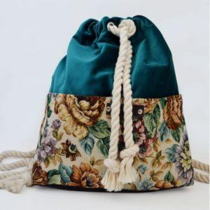 vinge project floral backpack Artonomous
