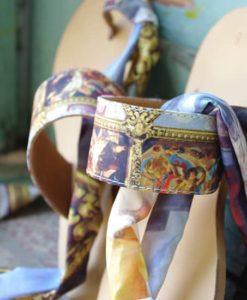 Χειροποίητα δερμάτινα σανδάλια Lacrimosa Design
