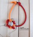 ment necklace με λουλούδια από την Ραχήλ Ανδρεάδου Artonomous