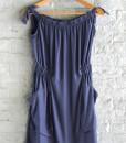 μπλε φόρεμα με τσέπες Helmi Artonomous