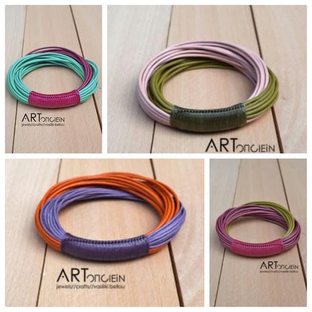 colorful bangles by Liza Gizi Artonomous
