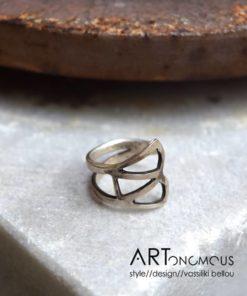 silver chevalier ring dedonaki artonomous