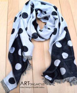 polka dot scarf artonomous