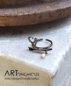 heart pearl ring anyfantis artonomous