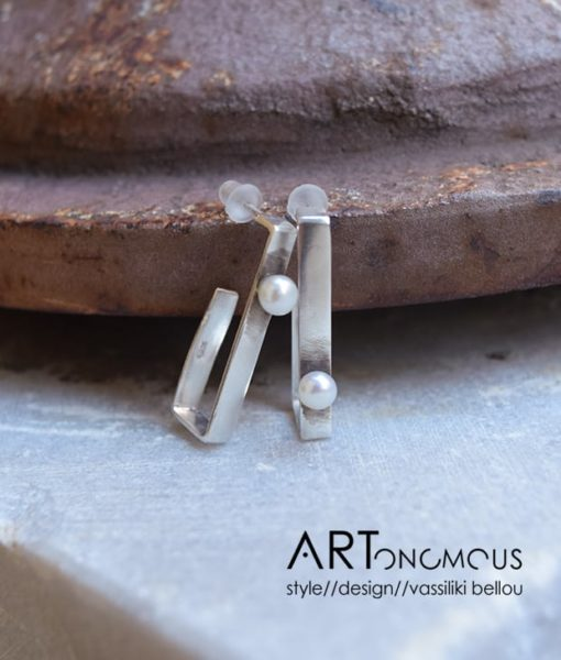 pearl earrings Dedonaki artonomous