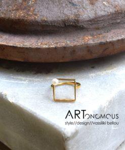 pearl ring Dedonaki artonomous