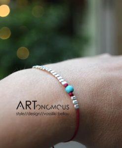 silver stones bracelet artonomous