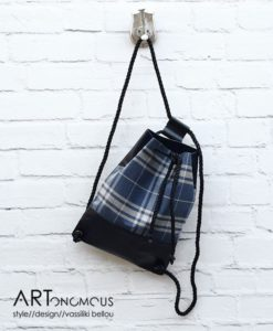 checkered backpack lovely artonomous
