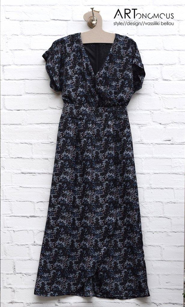 Μάξι εμπριμέ φόρεμα - ARTonomous    Style    Design 1084cb57a5c