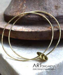 double bracelet with charm artonomous
