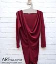 burgundy red top Free Style artonomous