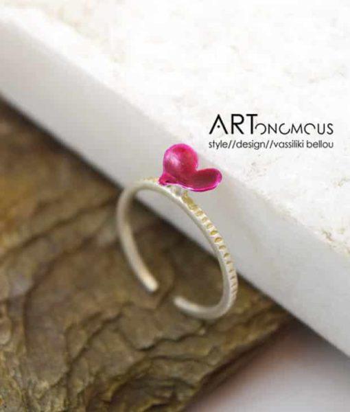 heart ring Anyfantis artonomous