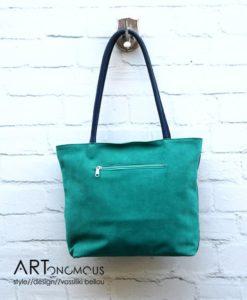 leather shopper bag artonomous
