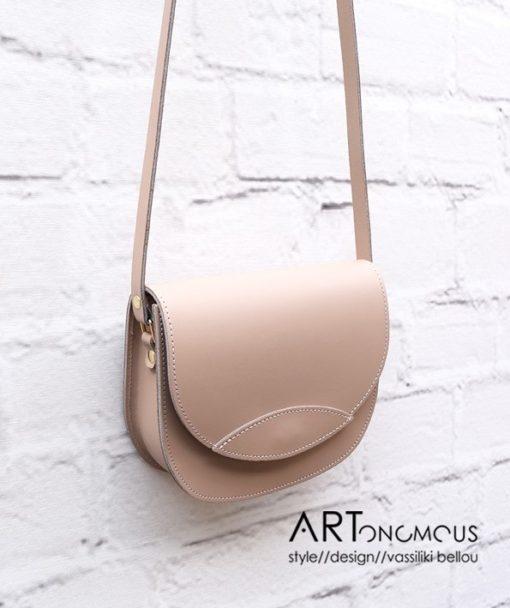 dermatino tsantaki blush Saddle Bag artonomous