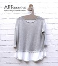 layered grey top no doubt artonomous