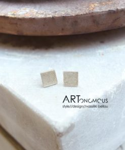 square earrings tsaprali artonomous