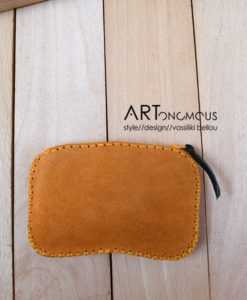 floral leather suede wallet artonomous