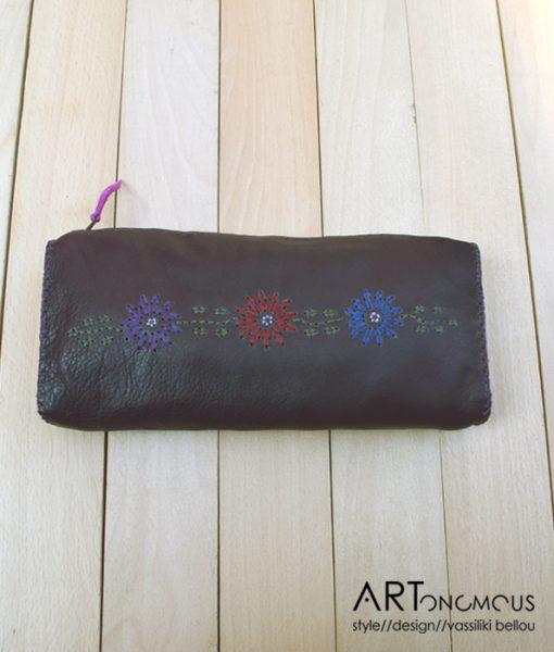 leather clutch artonomous