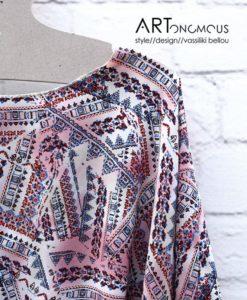 printed blouse poeta artonomous