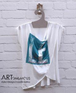 white tshirt Helmi artonomous
