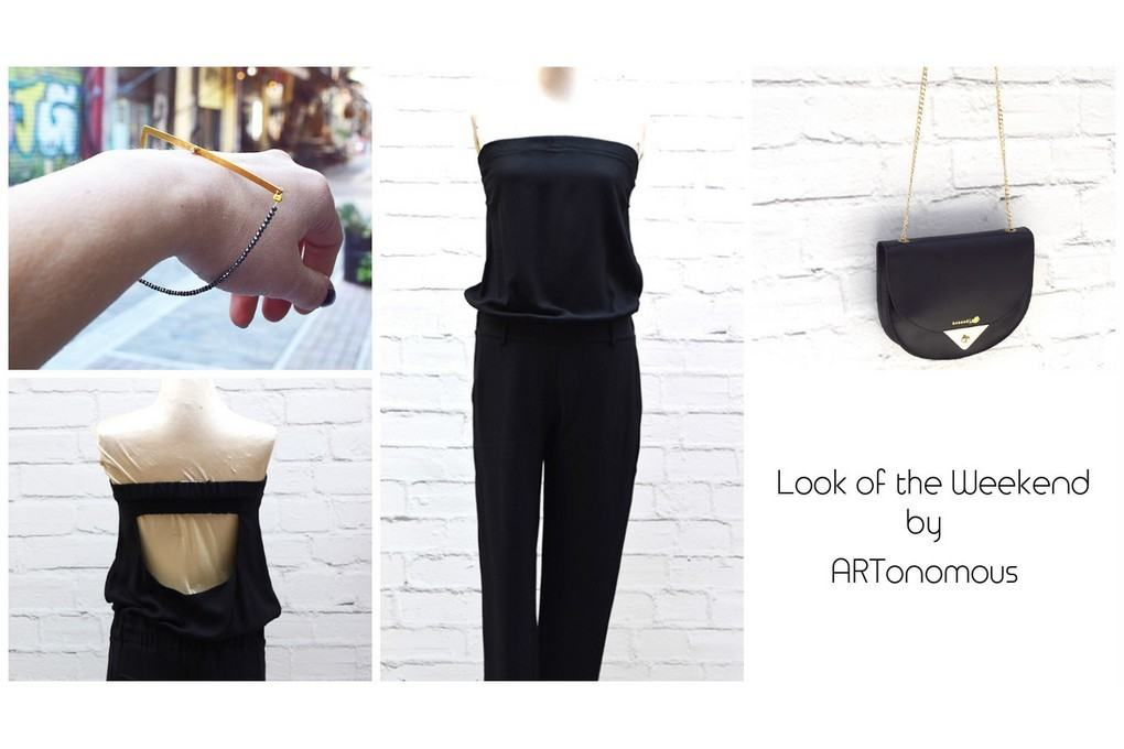 Look of the Weekend Black artonomous