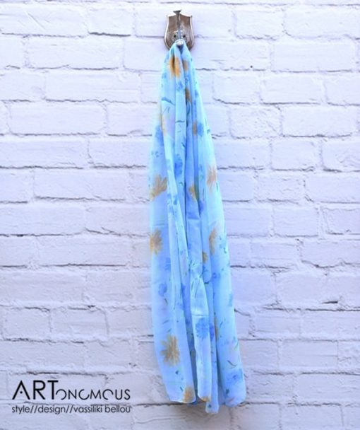 floral scarf artonomous