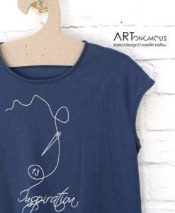 blue tshirt helmi artonomous