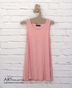 blush loose top no doubt artonomous