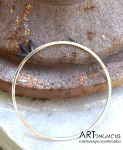silver bangle cocoon collection areti artonomous