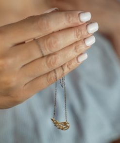 Gold Plated Silver Necklace Zoi Kampouri Artonomous1