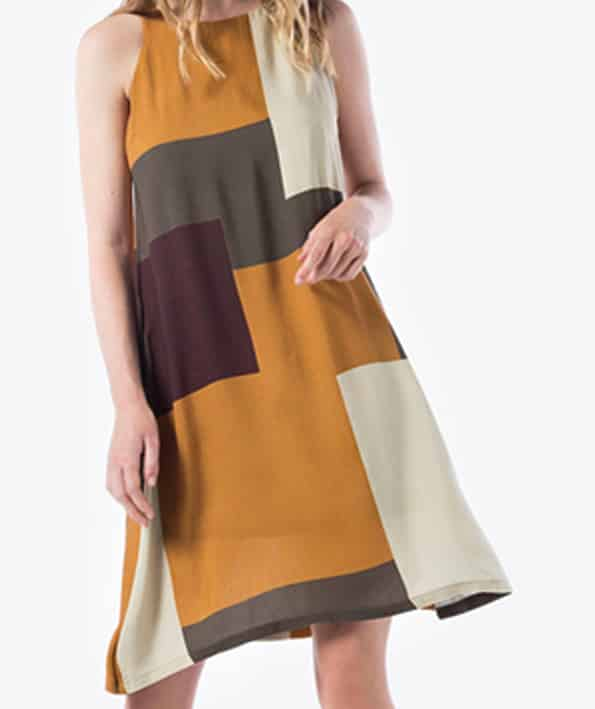 Φόρεμα αμάνικο με Γεωμετρικά σχέδια - ARTonomous    Style    Design 66e643beea5