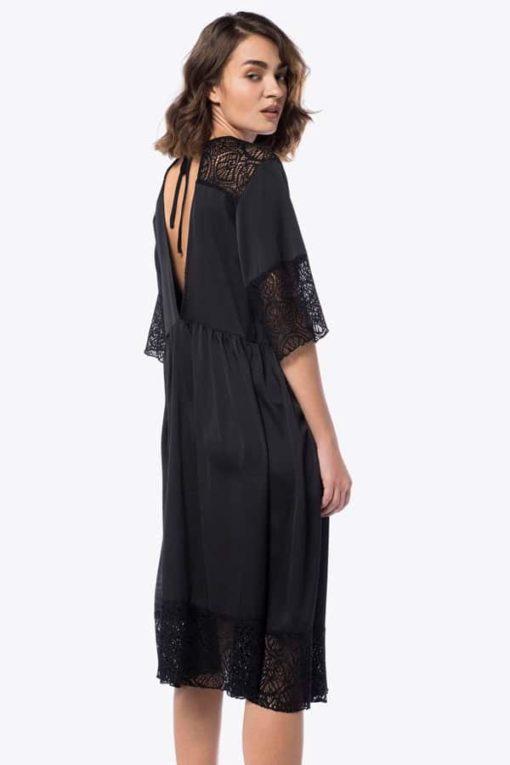 Φόρεμα Midi με δαντέλα 002073a (4)