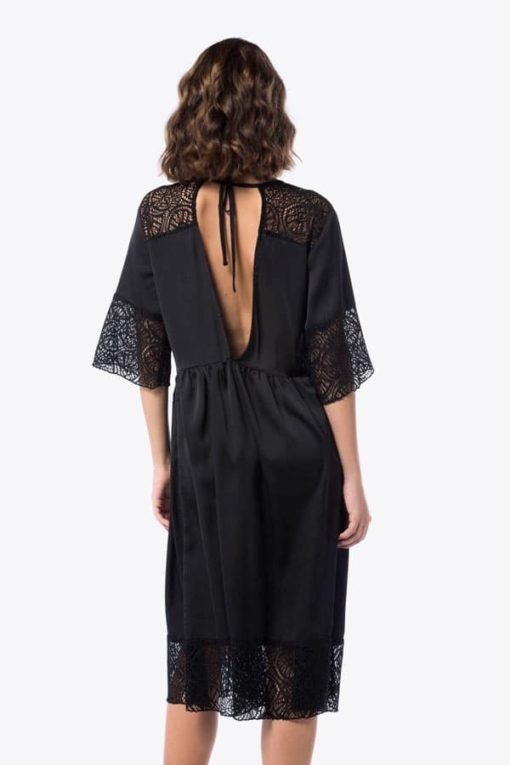 Φόρεμα Midi με δαντέλα 002073a (5)