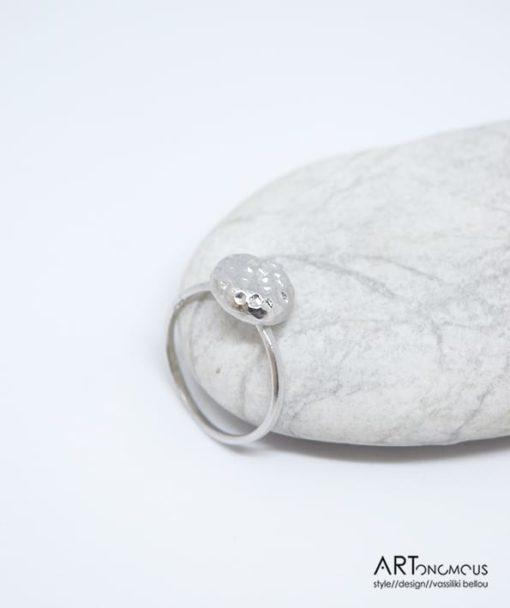Ασημένιο δαχτυλίδι 002150 (2)