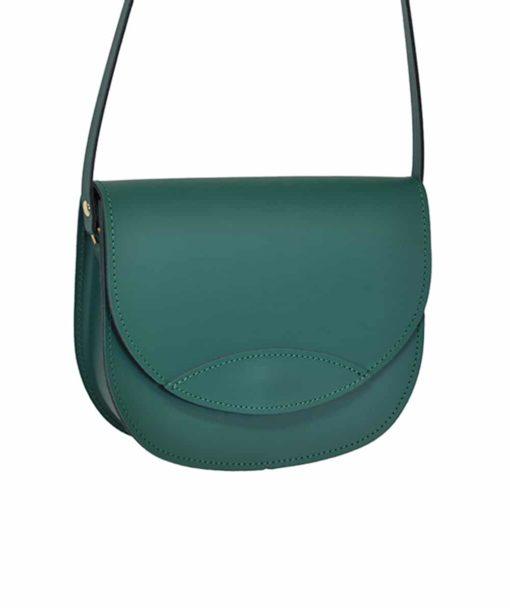 Δερμάτινο τσαντάκι – πράσινο 002260a