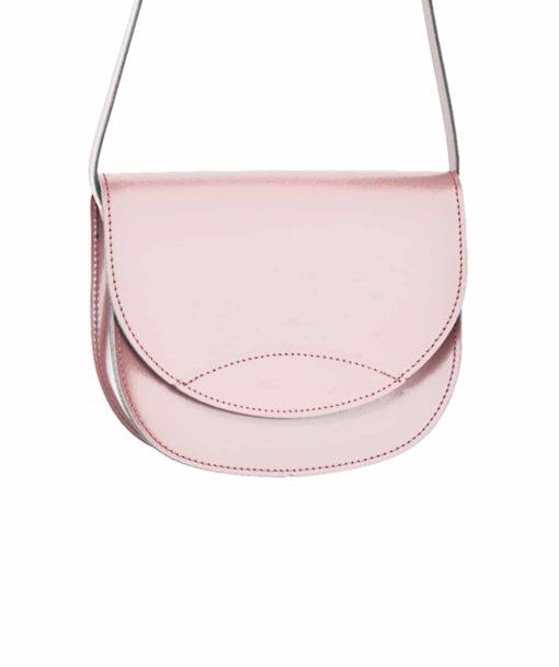 Δερμάτινο τσαντάκι – ροζ 002261a