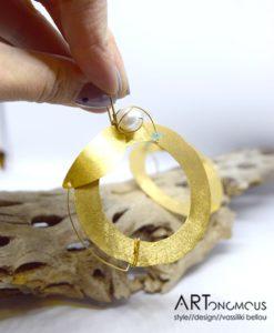 Επίχρυσα σκουλαρίκια με μαργαριτάρι 002237a (3)