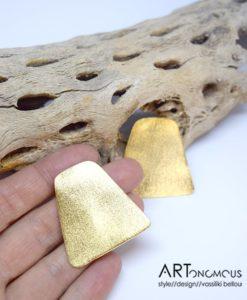 Επίχρυσα σκουλαρίκια ορθογώνιο 002229a (3)