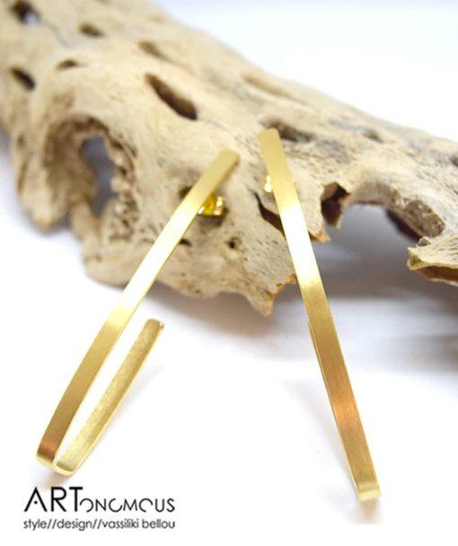 Επίχρυσα σκουλαρίκια βέργες 002221a (4)