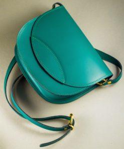 Green Leather Crossbody Bag Artonomous 1