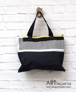 Shopping Bag Denim Artonomous 1