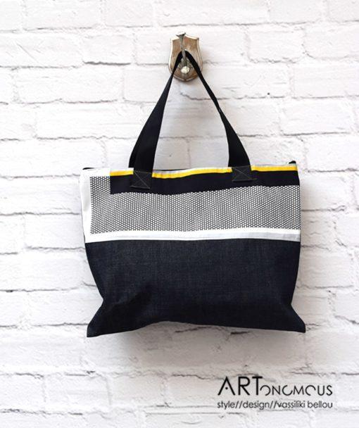 Shopping Bag Denim Artonomous 1