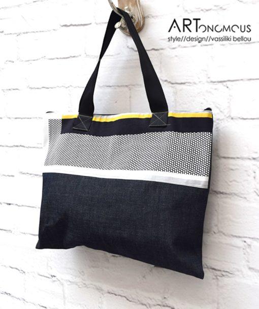 Shopping Bag Denim Artonomous 2