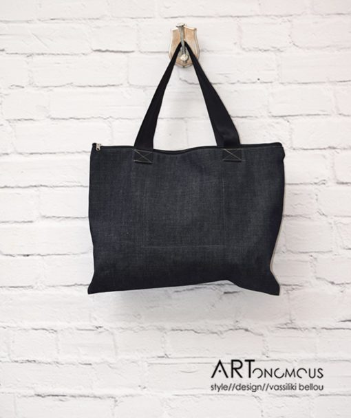 Shopping Bag Denim Artonomous 3
