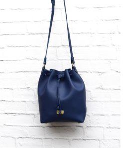 Χιαστί τσάντα Μπλε 002299a (2)